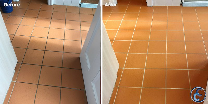 Tile Clean Gallery Before and After