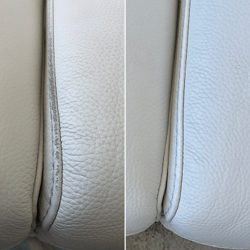 Leather Piping Repair